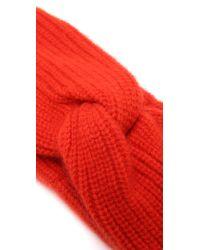Rag & Bone - Red Alexis Headband - Lyst