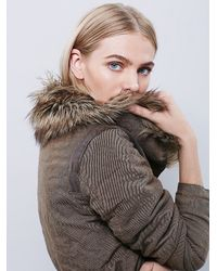 Free People - Green Womens Secure The Perimeter Army Jacket - Lyst