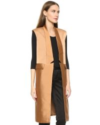C/meo Collective Brown Class Act Vest - Tan