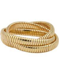 Sidney Garber - Metallic Gold Rolling Bracelet - Lyst