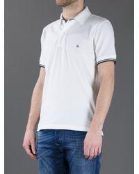 Fay White Classic Polo Shirt for men