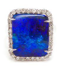 Kimberly Mcdonald - Metallic Boulder Opal And Diamond Ring - Lyst