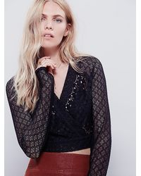 Free People - Black Ballet Betty Cami - Lyst