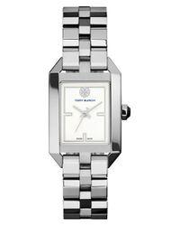 Tory Burch Metallic 'dalloway' Bracelet Watch