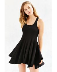BDG - Black Penelope Fit + Flare Dress - Lyst