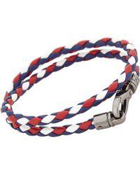 Tod's - Blue Tritone My Colors Wrap Bracelet for Men - Lyst