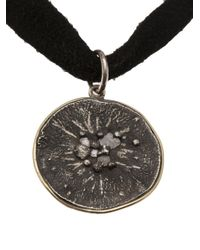 Beth Orduna | Black Circle Pendant Necklace | Lyst