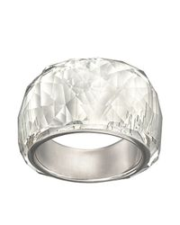 Swarovski | Metallic Nirvana Petite Crystal Ring | Lyst