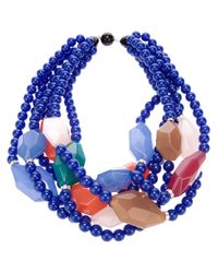 Antonella Filippini | Blue Beaded Necklace | Lyst