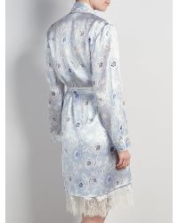 Somerset by Alice Temperley Multicolor Folk Floral Kimono Robe