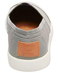 Madden Girl | Gray Sail Slip-on Sneakers | Lyst