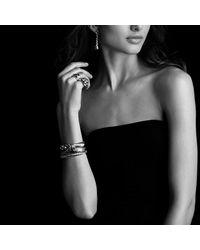 David Yurman - Metallic Cordelia Wide Ring With Gold - Lyst