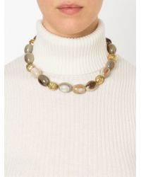 Ashley Pittman - Natural 'cattle Horn' Necklace - Lyst