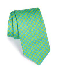 Ted Baker | Blue 'candy Dots' Silk Tie for Men | Lyst