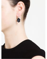 Kimberly Mcdonald - Black 18karat Gold Diamond and Geode Earrings - Lyst