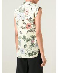 Gucci Yellow 'Flora' By Kris Knight Shirt