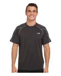 The North Face | Black Voltage Short Sleeve Crew Shirt for Men | Lyst