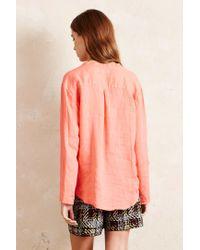 Harris Wilson - Pink Valentine Linen Shirt - Lyst