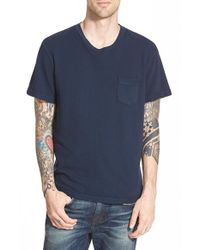 True Religion | Black 'crafted With Pride' Pique Pocket T-shirt for Men | Lyst