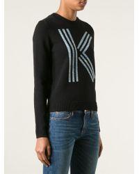KENZO Black Logo Sweater