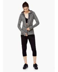 Mango - Gray Fitness & Running - Flecked Jacket - Lyst