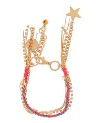 Venessa Arizaga | Metallic Malibu Charm Bracelet | Lyst