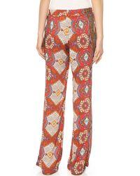 SW3 Multicolor Pembroke Pants Red Ankara
