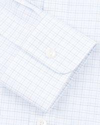 Jaeger Blue Tattersall Check Classic Shirt for men