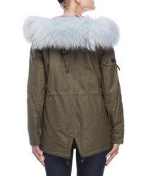 Sam. Green Mini Luxe Limelight Coat