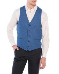 Moods Of Norway - Blue Rolf Victor Vest for Men - Lyst