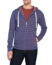 Native Youth | Blue Purple Stripe Raglan Hoodie for Men | Lyst