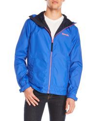 Bench | Blue Interrelate Jacket for Men | Lyst