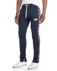 BBCICECREAM Blue Change Up Track Pants for men