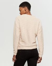 Marc New York Natural Boucle Knit Sweater