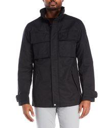 Victorinox | Black Water Repellant Four-Pocket Jacket for Men | Lyst
