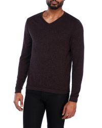 Weatherproof | Black V-Neck Sweater for Men | Lyst