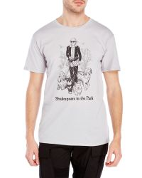 Headline Shirts - Metallic Shakespeare In The Park Tee for Men - Lyst
