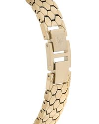 Anne Klein Metallic Ak3140 Gold-tone Watch & Interchangeable Bezel & Strap Set