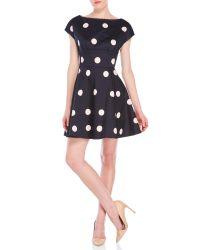 kate spade new york   Blue Spotlight Fiorella Dress   Lyst