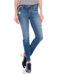Eunina - Blue Mica Jeans - Lyst