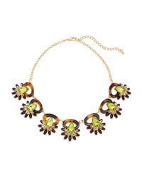 Catherine Stein - Multicolor Tortoiseshell-Look & Olive Necklace - Lyst
