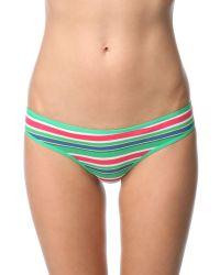 Rene Rofe | Blue Cotton Bikini Panty | Lyst