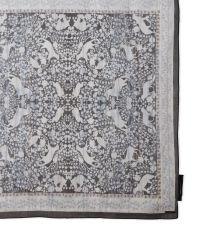 BCBGMAXAZRIA - Black Woodland Fauna Print Silk Scarf - Lyst