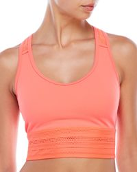 New Balance | Multicolor Y-Back Cage Cropped Sport Tank | Lyst