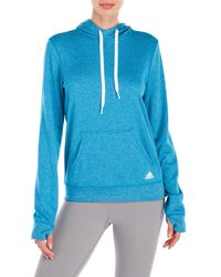 Adidas Originals | Blue Ultimate Fleece Hoodie | Lyst