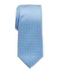Ben Sherman - Blue Irving Micro Dot Silk Tie for Men - Lyst