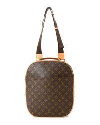 Louis Vuitton Brown Shoulder Bag - Vintage