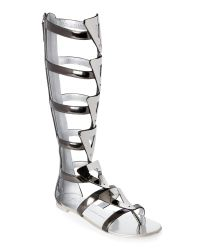 Giuseppe Zanotti   Multicolor Leather And Mirrored Metal Gladiator Sandals   Lyst