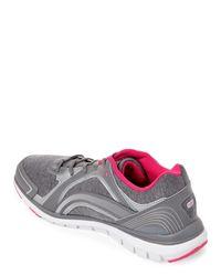 Ryka - Gray Grey & Silver Aries Walking Sneakers - Lyst