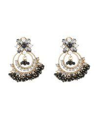 Marchesa - Metallic Gold-tone Shaky Bead Earrings - Lyst